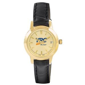 Pedre Women's Traditional Watch (Gold Dial)
