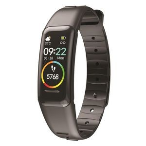 Supersonic® Smart Fitness Wristband Tracker w/Heart Rate Monitor (Black)
